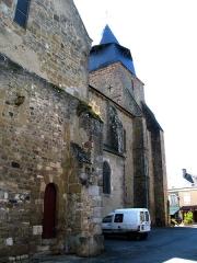 Eglise Saint-Paxent -  Cluis (Indre, France) -  L'église Saint-Paxent.  .  .  .