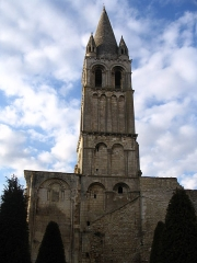 Ancienne abbaye Notre-Dame-du-Bourg-Dieu - English: The abbey of Déols, Indre, France.