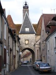 Ancienne porte de ville - English: St.Stephen's Gate, in Déols, Indre, France.