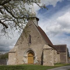 Eglise Saint-Pierre de Dampierre -  Parish Church of Saint Stephen of Dampierre, commune of Gargilesse-Dampierre
