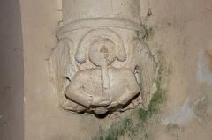 Eglise Saint-Pierre de Dampierre -  Lamp butt adorned with a musical angel