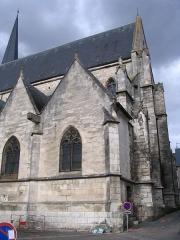 Eglise Saint-Cyr - English: St. Cyr's church, in Issoudun, Indre, France.