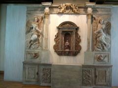 Ancien hôtel-Dieu - Retable de la chapelle dit des incurables