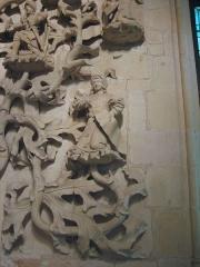 Ancien hôtel-Dieu - Arbre de Jessé, Musée de l'hospice Saint-Roch à Issoudun