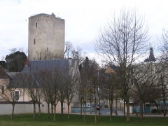 Tour Blanche - English: The White Tower, in Issoudun, Indre, France.