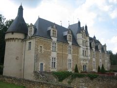 Château d'Ars - Français:   Château d\'Ars (Indre) vu du sud-est