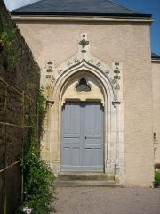 Château d'Ars - Français:   Porte d\'entrée de la chapelle