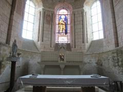 Ancienne abbaye Saint-Pierre et Saint-Paul - Église de Meobecq, France