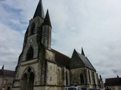 Eglise Sainte-Marie-Madeleine -  Mézières-en-Brenne (36)