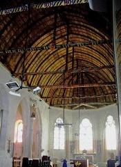 Eglise Sainte-Marie-Madeleine - Français:   Mézières-en-Brenne - Église Sainte-Marie-Madeleine - Nef
