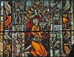Eglise Sainte-Marie-Madeleine - Français:   Mézières-en-Brenne - Église Sainte-Marie-Madeleine - Vitrail: Jean III d\'Harcourt en donateur