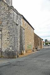 Eglise Saint-Martin de Vicq - Deutsch:   Südseite von SW