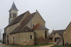 Eglise Saint-Martin de Vicq - Français:   Cette petite église paroissiale à une poignée de kilomètres de La Chatre dans l\'Indre appartenait à l\'abbaye de Déols au XI siècle.