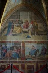 Château - Français:   Fresques de la chapelle du château.