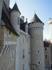 Château du Chabenet - Français:   Château de Chabenet vu d\'une de ces tours