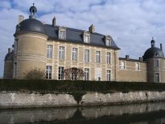 Château de la Ferté (également sur commune de Lazenay, dans le Cher) - English: The Ferté Castle, near Reuilly, Indre, France.