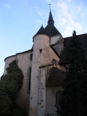 Eglise du prieuré Saint-Denis - English: St. Denis' church, in Reuilly, Indre, France.