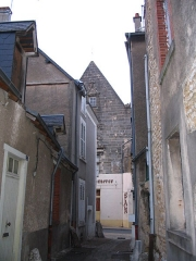 Maison à pignon - English: The