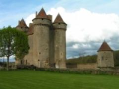 Château -  Château Médiéval de Sarzay prise par grostophe en avril 2005.  Chateau fort de la fin du fr:Moyen Âge, situé sur la commune de fr:Sarzay, en Indre, dans la région Centre.   <2005> <Grostophe>
