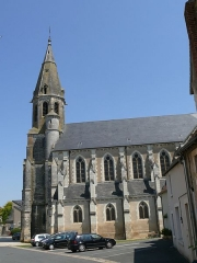 Eglise Saint-Laurian - English: Saint-Laurian's church in Vatan (Indre, Centre-Val de Loire, France).