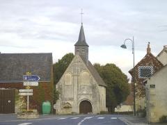 Eglise du prieuré Saint-Saturnin -  Vouillon 36 église 56454