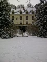 Château Gaillard - Français:   CHâteau-Gaillard sous la neige