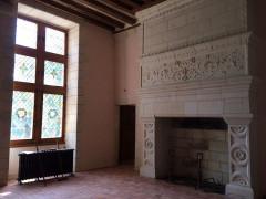 Château Gaillard - Français:   cheminée