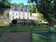 Château Gaillard - Vue des jardins