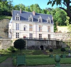 Château Gaillard - Français:   Vue de la façade