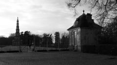 Domaine de Chanteloup - Pagode de Chanteloup et le pavillon du Concierge