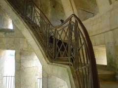 Domaine de Chanteloup - English: Inside the pagoda in Chanteloup, France