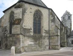 Eglise paroissiale Saint-Florentin - Deutsch: Amboise an der Loire im Département Indre-et-Loire/Frankreich - Kirche Saint-Florentin aus dem 15. Jahrhundert; den Namen hat sie von der abgebrochenen Schlosskirche übernommen