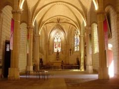 Eglise paroissiale Saint-Florentin - English: Choir of the Saint-Florentin Church in Amboise (Indre-et-Loire, France), near the castle
