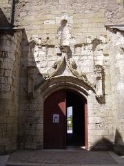 Eglise paroissiale Saint-Florentin - English: South door of the Saint-Florentin church in Amboise