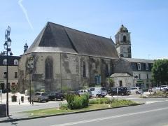 Eglise paroissiale Saint-Florentin - עברית: כנסיית סנט פלורנטין באמבואז