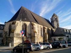 Eglise paroissiale Saint-Florentin -  Vue extérieure de l'église Saint Florentin à Amboise