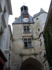 Tour de l'Horloge -  The clock tower in Amboise, Indre-et-Loire, France.