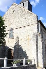 Eglise Saint-Martin -  L'église d'autrèche, Entrée, façade Ouest