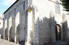 Eglise Saint-Martin -  L'église d'autrèche, Entrée, façade Nord et Ouest
