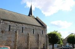 Eglise Saint-Martin -  L'église d'autrèche, façade Nord