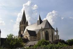 Eglise abbatiale Saint-Pierre-Saint-Paul -  choeur de l\'abbatiale de Beaulieu les loches (Tourraine)