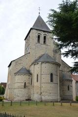 Eglise Saint-Martin - Français:   Abside de l\'église Saint-Martin de Bossay-sur-Claise.