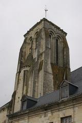 Eglise Saint-Germain - English: Bell tower of Saint-Germain's church of Bourgueil, Indre-et-Loire, France.