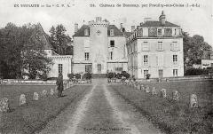 Château de Boussay - Français:   Façade du château de Boussay (37)