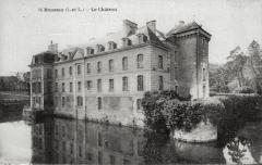 Château de Boussay - Français:   Aile Est (XVIIIème) du château de Boussay, en Touraine