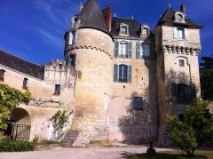 Château - Français:   Ancienne forteresse Lochoise du XVe siècle