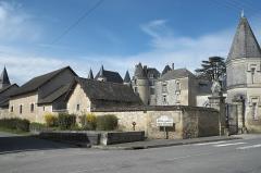 Château - Deutsch: Schloss in La Celle-Guenand im Département Indre-et-Loire (Centre-Val de Loire/Frankreich)