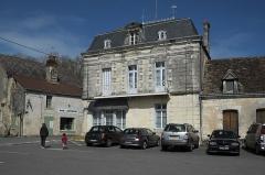 Château - Deutsch: Gebäude, Place de l'Église, in La Celle-Guenand im Département Indre-et-Loire (Centre-Val de Loire/Frankreich)