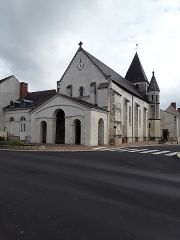 Eglise paroissiale Saint-Avant - Français:   Église de la Celle-Saint-Avant, Indre-et-Loire, France