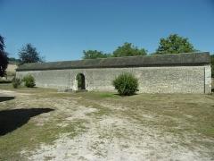 Ancienne chartreuse du Liget - Français:   Vue extérieure de l\'aile ouest du cloître